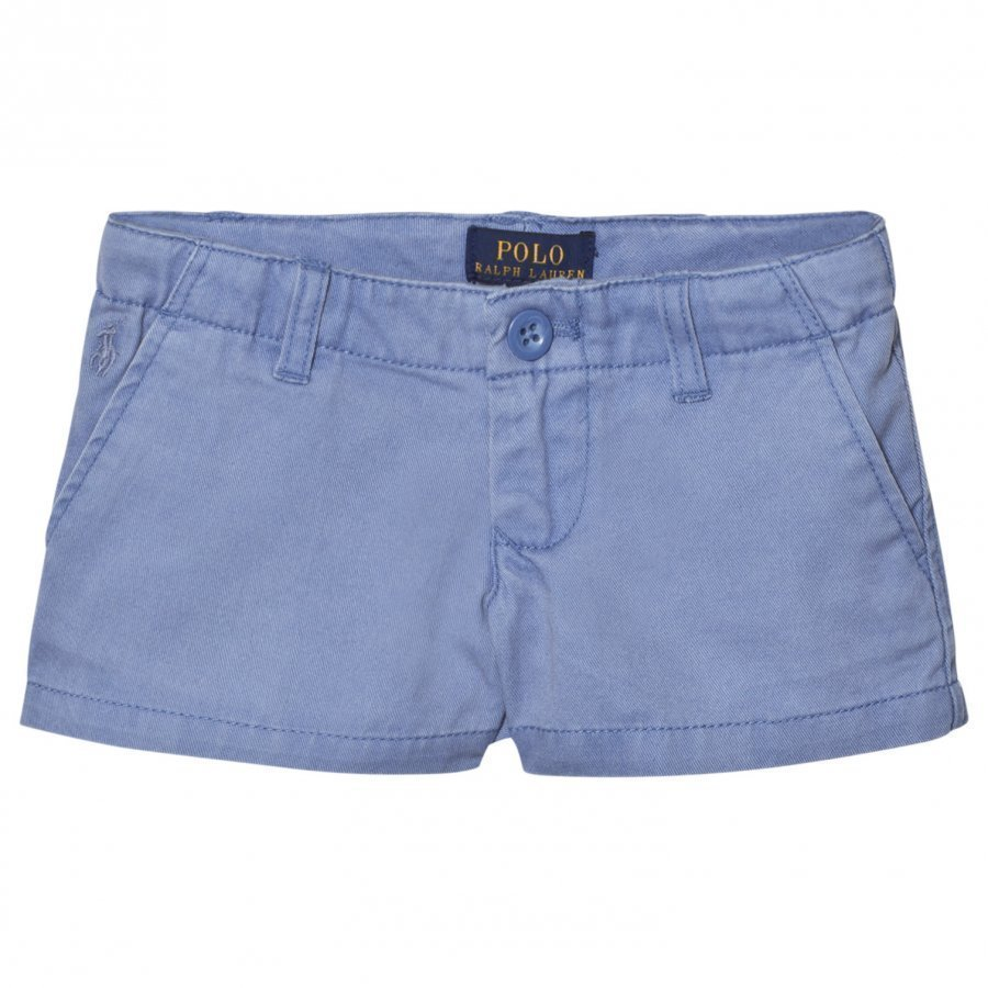 Ralph Lauren Blue Washed Chino Shorts Chinos Housut