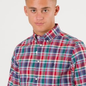 Ralph Lauren Button Down Shirt Kauluspaita Punainen