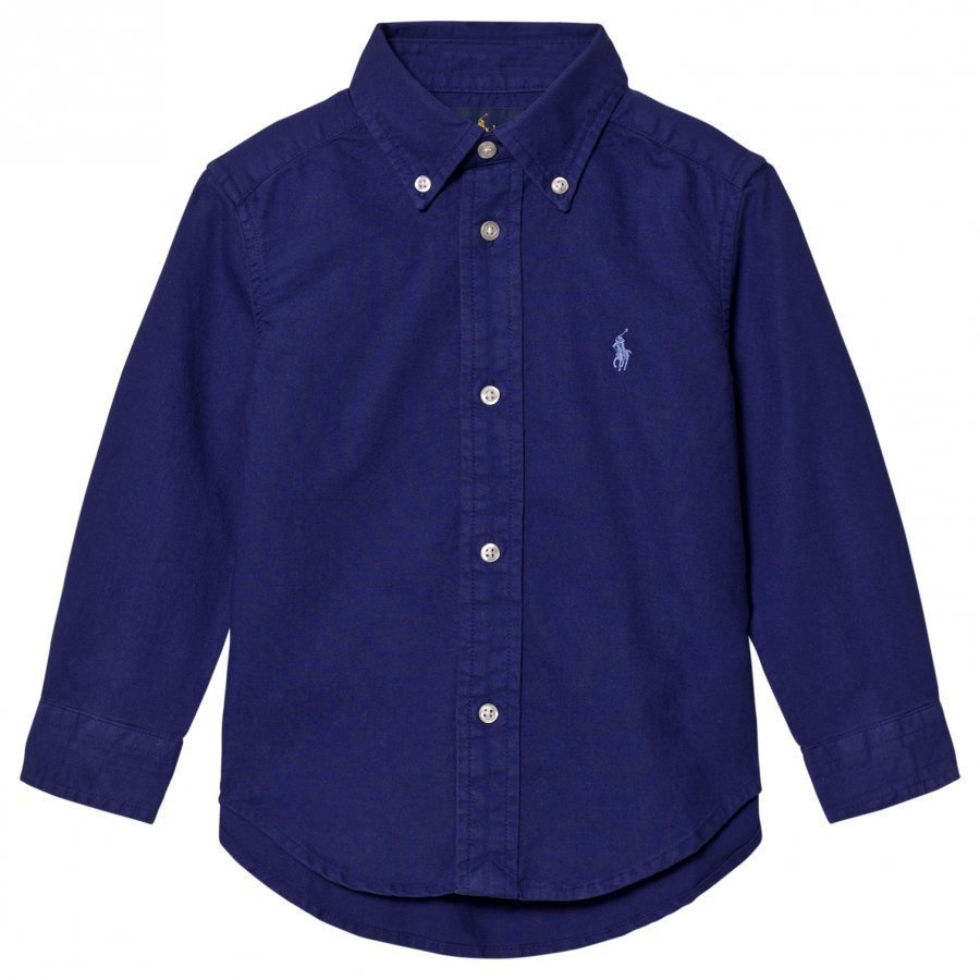 Ralph Lauren Button-Down Shirt Royal American Kauluspaita