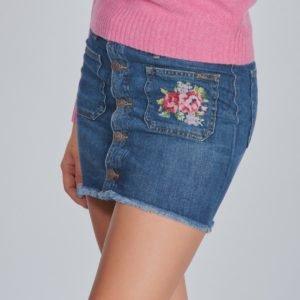 Ralph Lauren Button Skirt Bottoms Skirt Hame Sininen