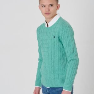 Ralph Lauren Cable Cn Tops Sweater Neule Vihreä