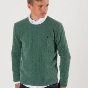 Ralph Lauren Cable Crewneck Sweater Neule Vihreä