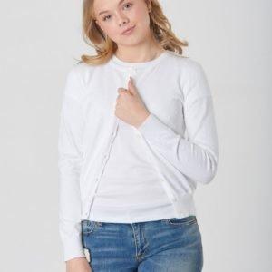 Ralph Lauren Cardigan Tops Sweater Neule Valkoinen