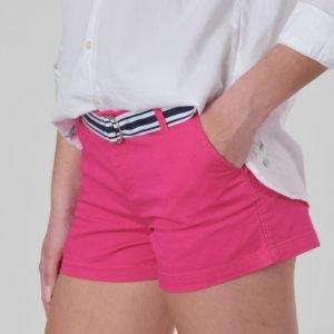 Ralph Lauren Chino Short Bottoms Short Shortsit Vaaleanpunainen