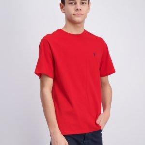 Ralph Lauren Cn Tee T-Paita Punainen
