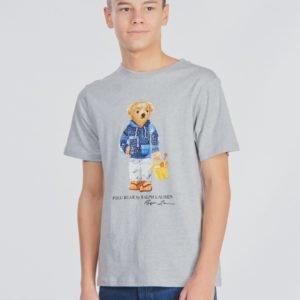 Ralph Lauren Cn Tops T Shirt T-Paita Harmaa