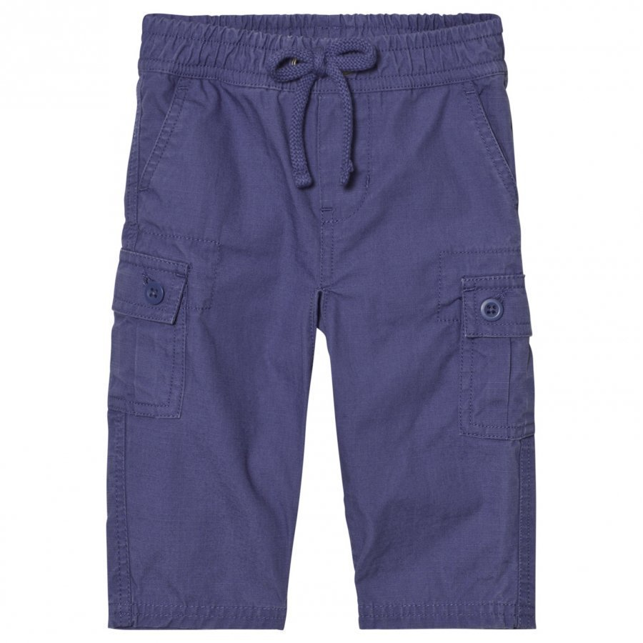Ralph Lauren Cotton Ripstop Cargo Pants Sporting Blue Cargo Shortsit