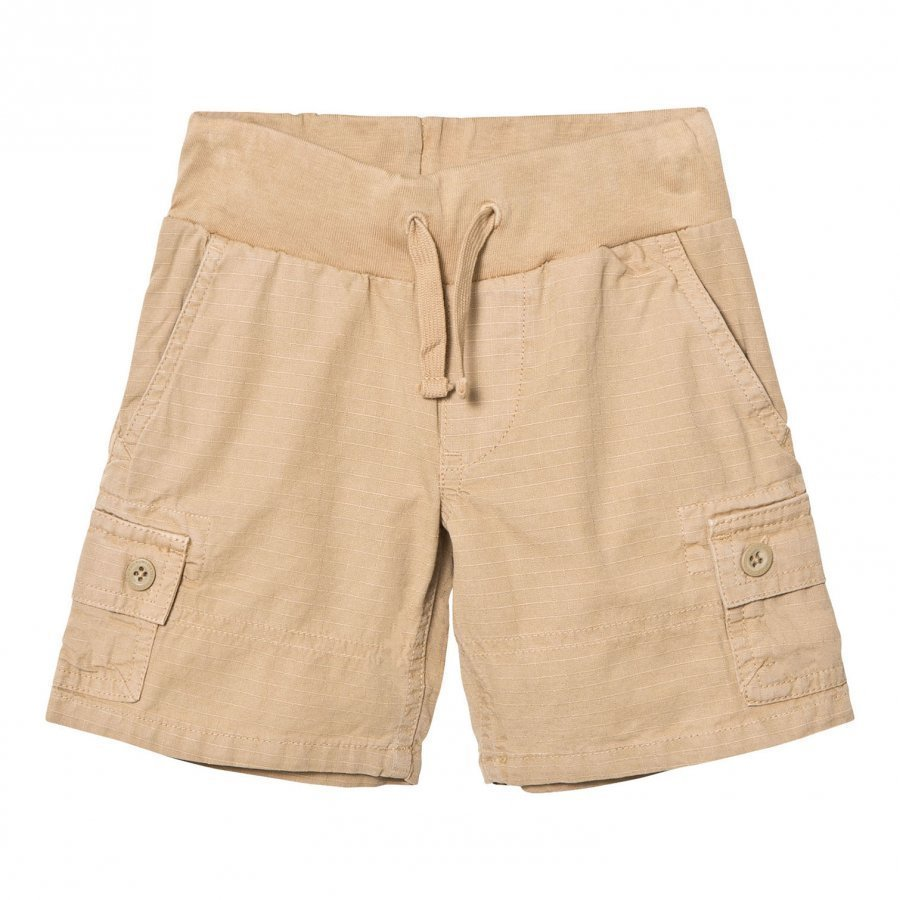 Ralph Lauren Cotton Ripstop Utility Short Boating Khaki Cargo Shortsit