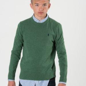 Ralph Lauren Crew Neck Sweater Neule Vihreä