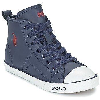 Ralph Lauren DAYMOND MID ZIP korkeavartiset kengät