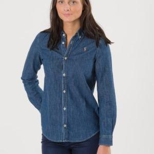 Ralph Lauren Denim Shirt Kauluspaita Sininen