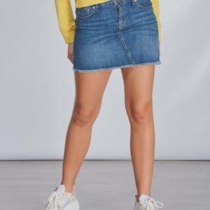 Ralph Lauren Denim Skirt Bottoms Skirt Hame Sininen