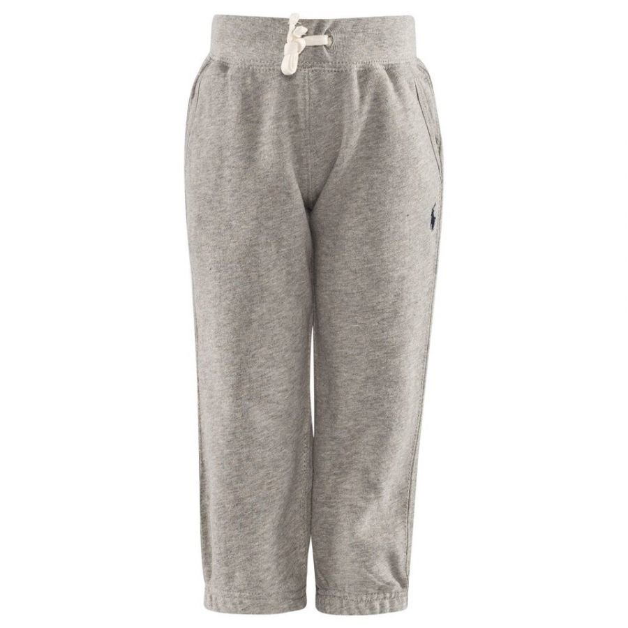 Ralph Lauren Fleece Pull On Pant Dark Sport Heather Chinos Housut
