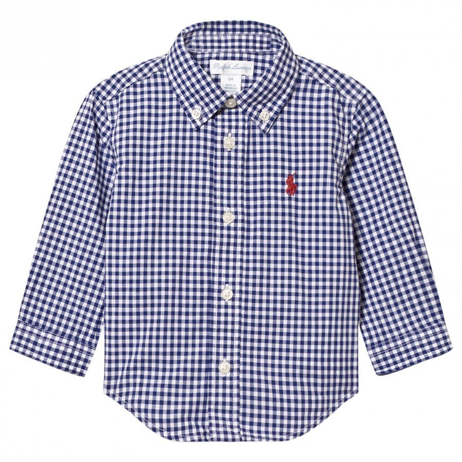Ralph Lauren Gingham Poplin Shirt Kauluspaita