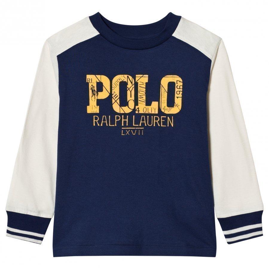Ralph Lauren Long Sleeve Tee Freshwater Pitkähihainen T-Paita