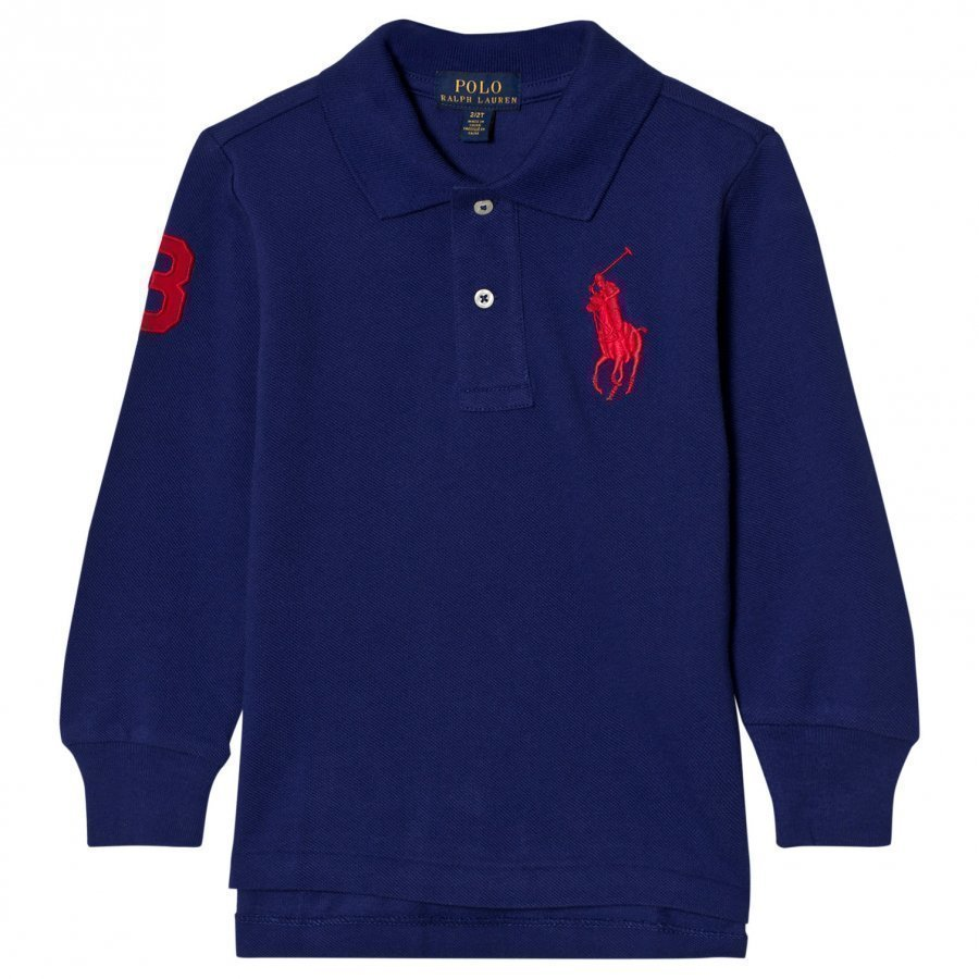 Ralph Lauren Mesh Long Sleeve Polo Pikeepaita