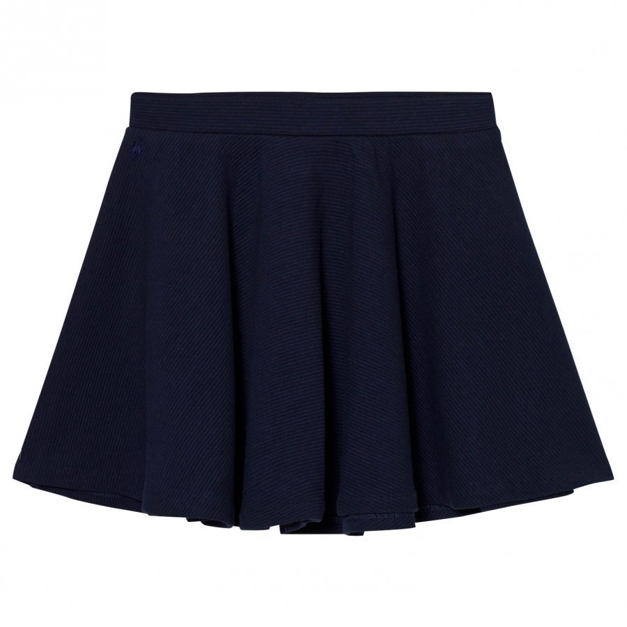 Ralph Lauren Navy Circle Skirt Lyhyt Hame