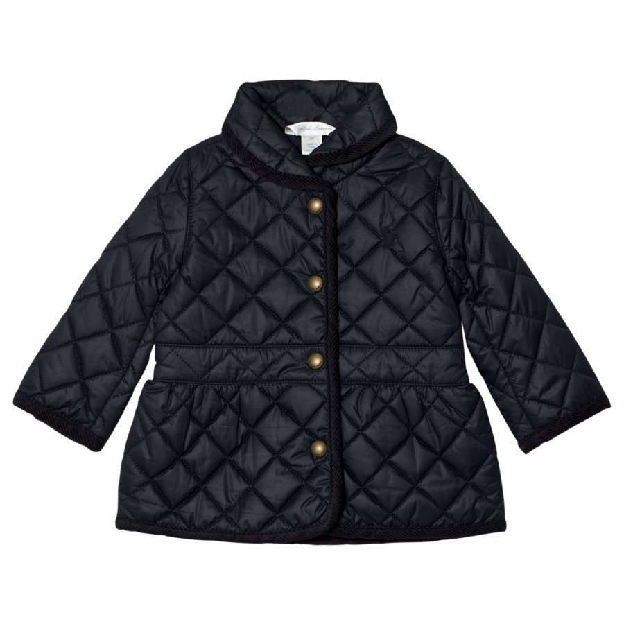 Ralph Lauren Navy Quilted Barn Jacket Tikkitakki