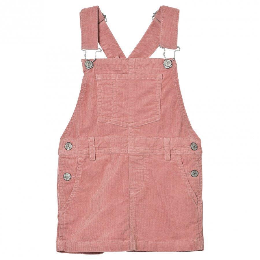 Ralph Lauren Pink Corduroy Skirt Overalls Mekko