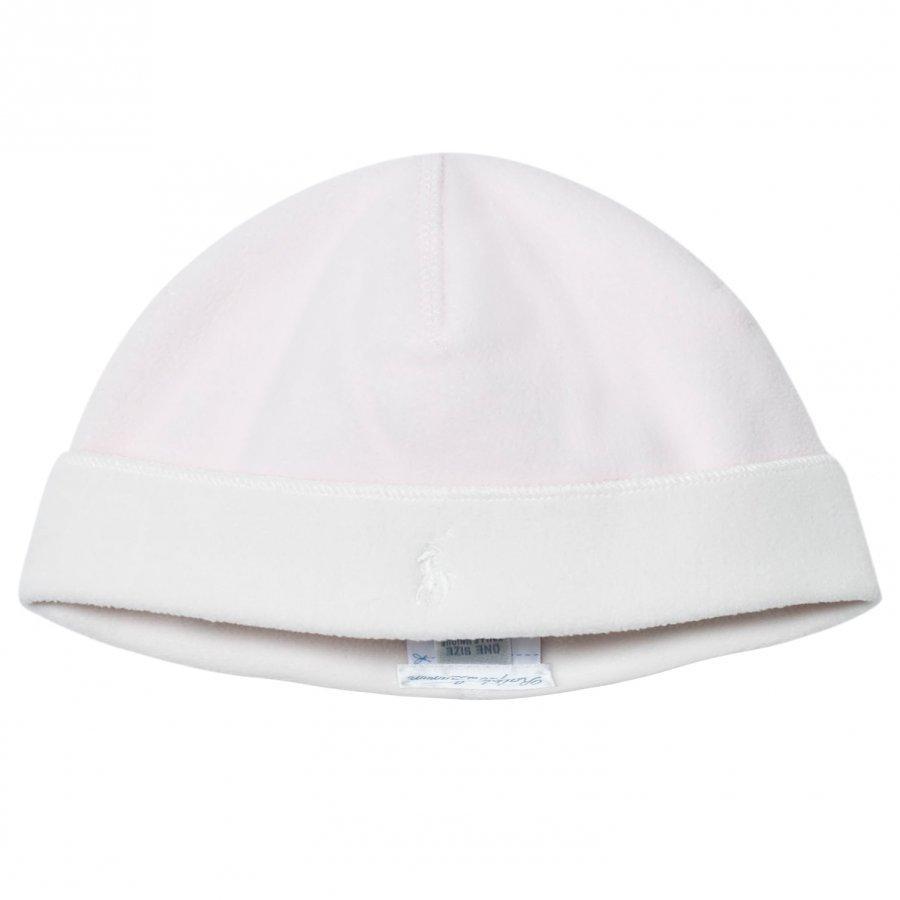 Ralph Lauren Pink Lux Microfleece Hat Pipo
