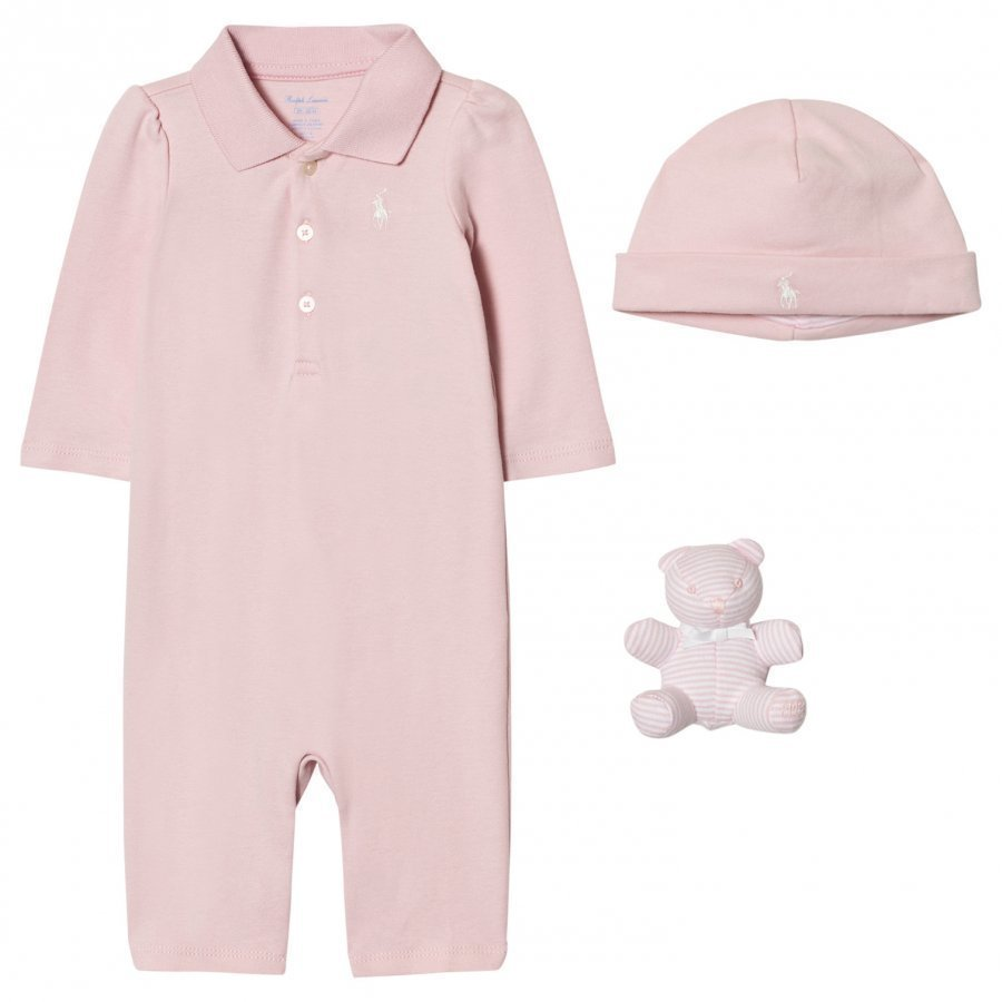 Ralph Lauren Pink Polo Body Gift Set Lahjasetti