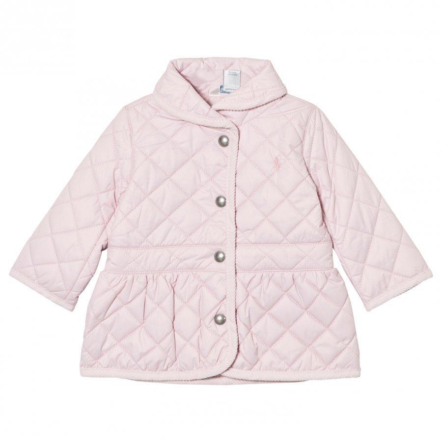 Ralph Lauren Pink Quilted Barn Jacket Tikkitakki