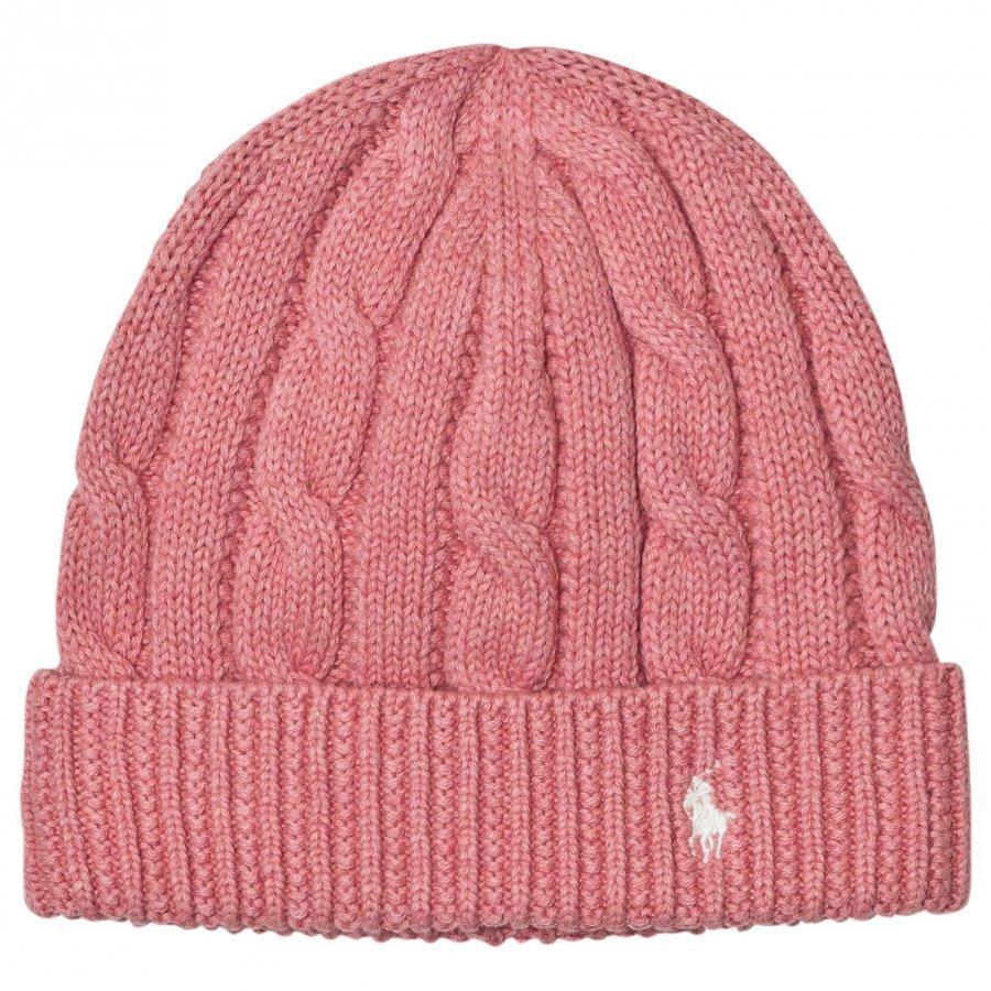 Ralph Lauren Pink Slouchy Hat Pipo