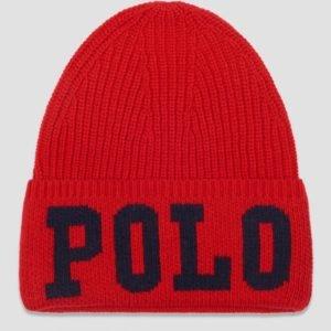 Ralph Lauren Polo Hat Apparel Accessories Hat Hattu Punainen