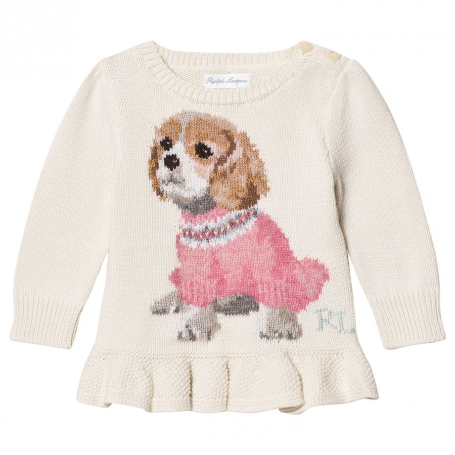 Ralph Lauren Puppy Peplum Infant Sweater Oloasun Paita