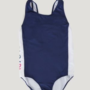 Ralph Lauren Solid Swimwear 1 Pc Swim Uimapuku Sininen