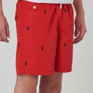 Ralph Lauren Traveler Sh Swimwear Boardshort Uimashortsit Punainen