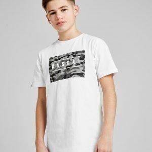 Rascal Camo Box Logo T-Paita Valkoinen