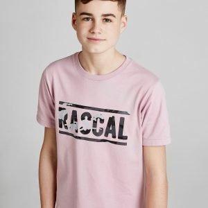Rascal Camo Infill T-Shirt Vaaleanpunainen