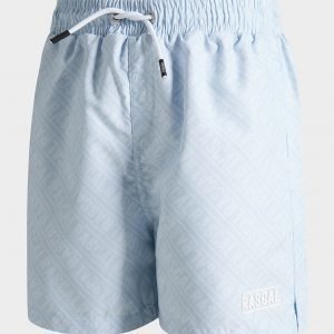 Rascal Capri All Over Print Swim Shorts Sininen