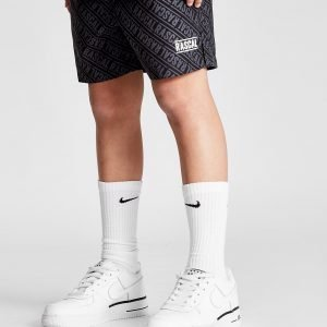 Rascal Repeat Logo Shorts Musta