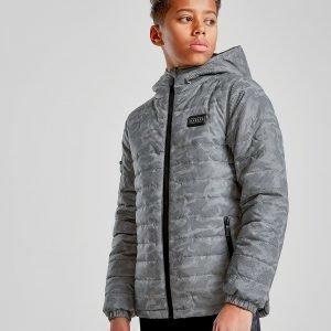 Rascal Temple Camo Reflective Jacket Harmaa