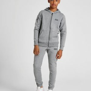 Rascal Vital Fleece Track Pants Harmaa