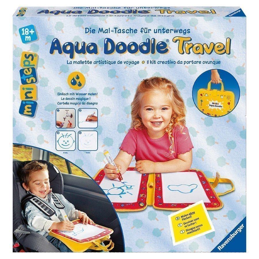 Ravensburger Ministeps Maalausalusta Aqua Doodle Travel