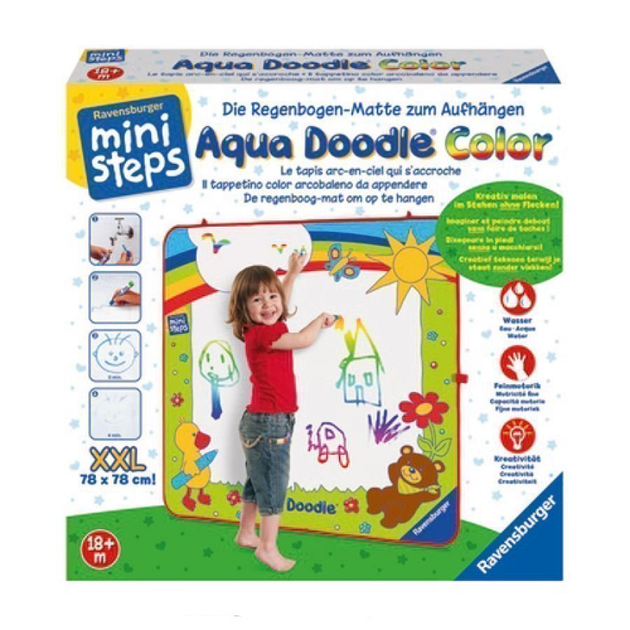 Ravensburger Ministeps Ripustettava Maalausmatto Aqua Doodle Xxl Color
