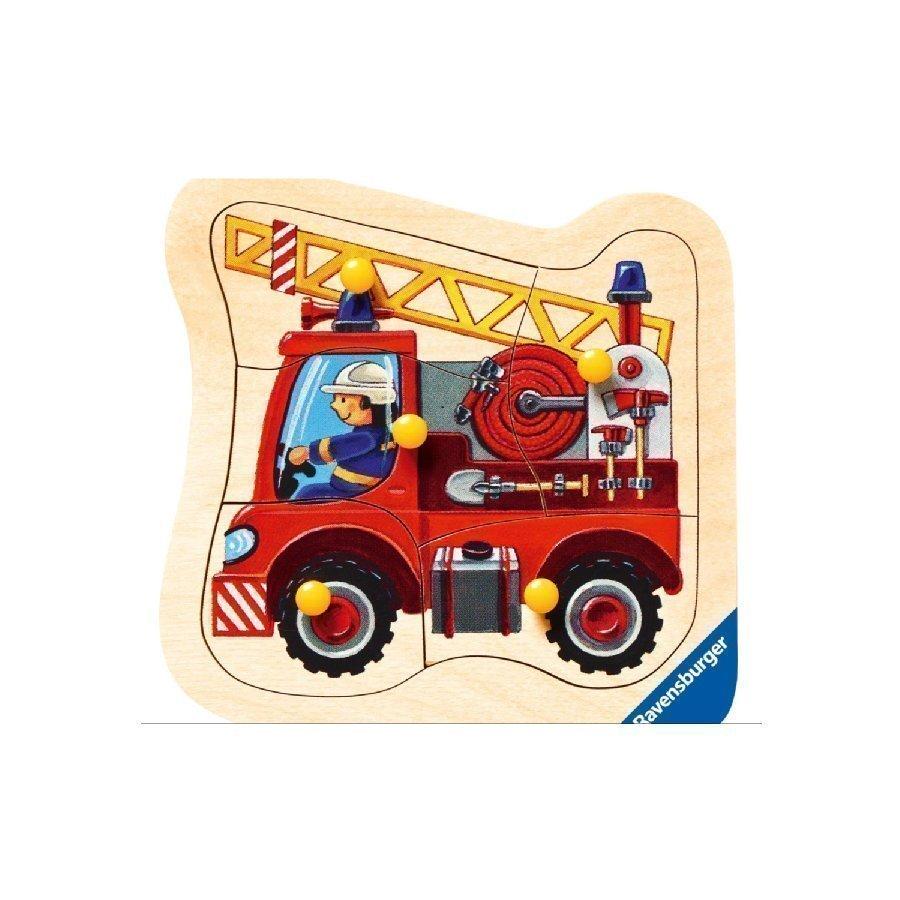 Ravensburger Nuppipalapeli Paloauto 5 Palaa 03664