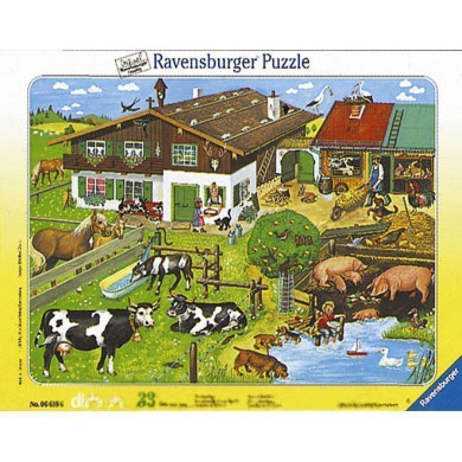 Ravensburger Palapeli Eläinperheet 33 Palaa