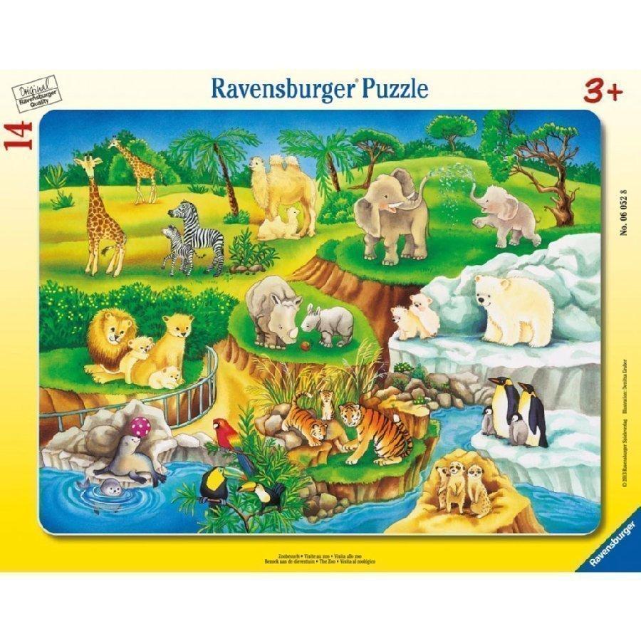 Ravensburger Palapeli Eläintarhassa 06052