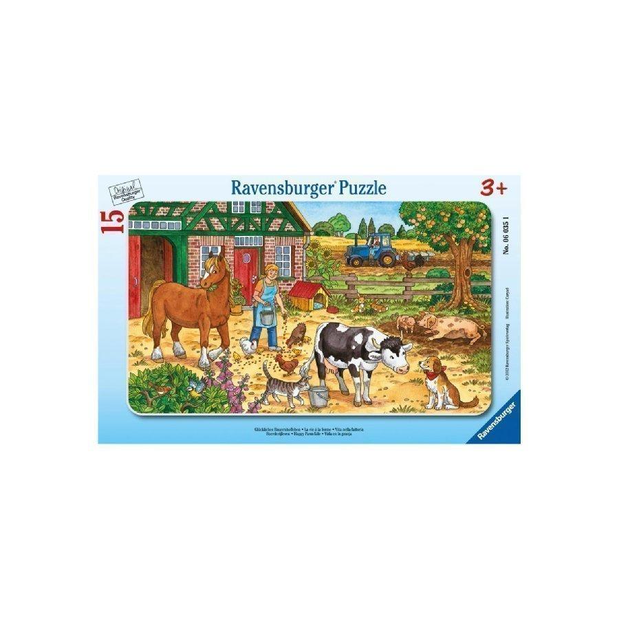 Ravensburger Palapeli Elämää Maatilalla 15 Palaa 06035