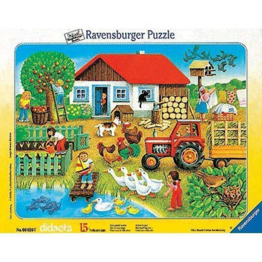 Ravensburger Palapeli Mikä Kuuluu Minnekin 15 Palaa