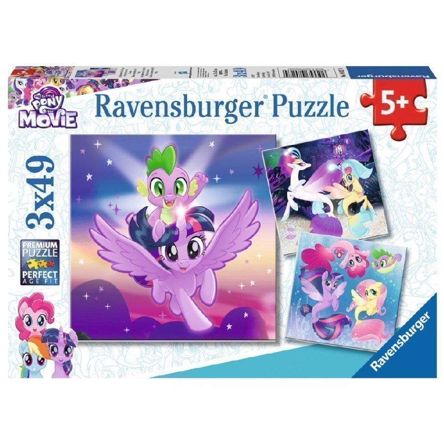 Ravensburger Palapeli My Little Pony Seikkailu Ponien Kanssa 3 X 49 Palaa
