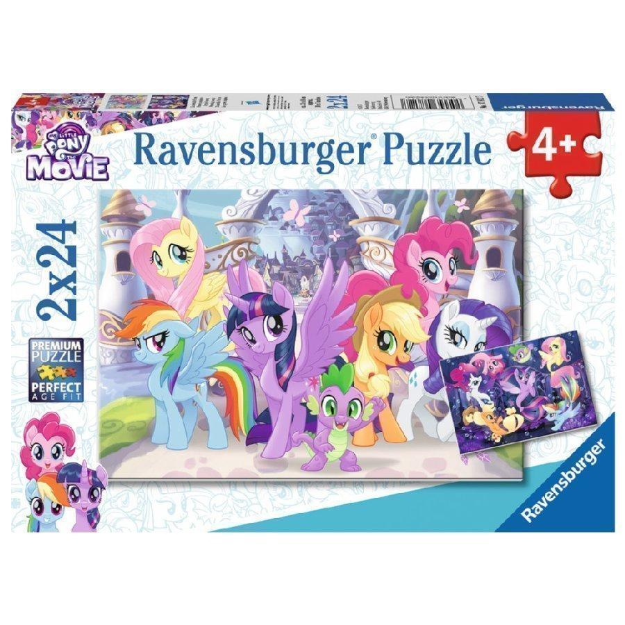 Ravensburger Palapeli My Little Pony Taianomaiset Ponit 2 X 24 Palaa