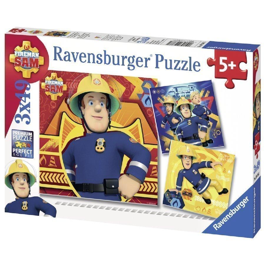 Ravensburger Palapeli Palomies Sami 3 X 49 Palaa