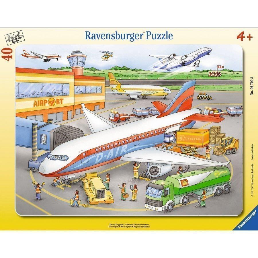 Ravensburger Palapeli Pieni Lentokenttä 40 Palaa