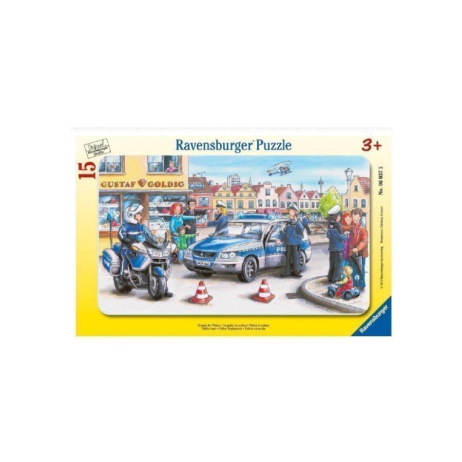 Ravensburger Palapeli Poliisipartio 15 Palaa 06037