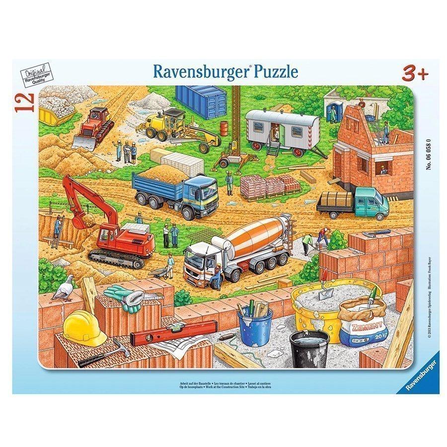Ravensburger Palapeli Rakennustöitä